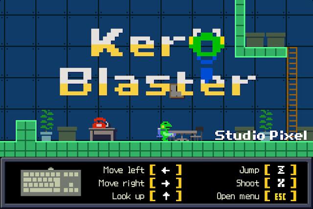 Las plataformas de Kero Blaster ya disponibles en Steam