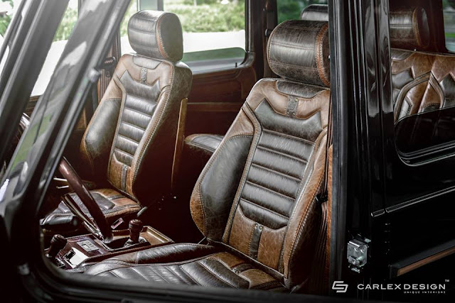 g500 interior