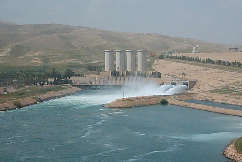 JRC Study Says Mosul Dam Failure Would Affect 6 Million: Mosul would be wiped out by flood water...