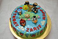 Kek Fondant Angry Bird
