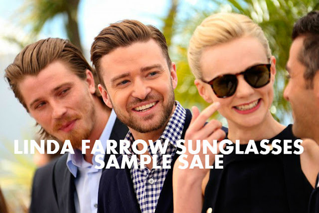 54157cbdf7 SAMPLE SALE  LINDA FARROW SUNGLASSES - London On The Inside