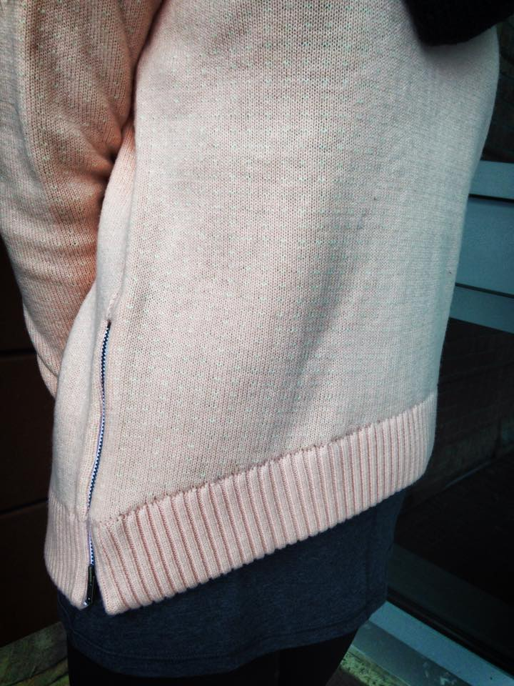 lululemon yogi crew sweater parfait