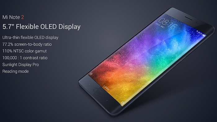 Xiaomi Mi Note 2 5.7 in Global Version