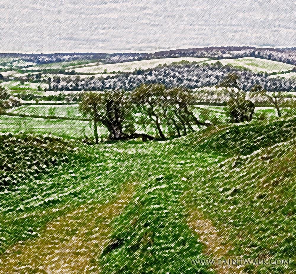 hod hill, hambledon hill, Rawlsbury camp,