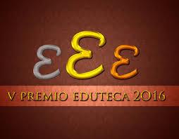Finalista al V Premio Eduteca 2016