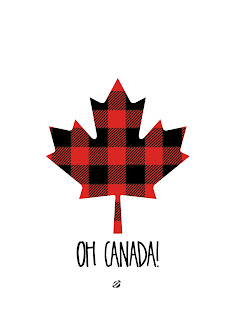 LostBumblebee ©2015 MDBN : OH CANADA 2 : Free Printable - Donate to download : Personal Use Only.