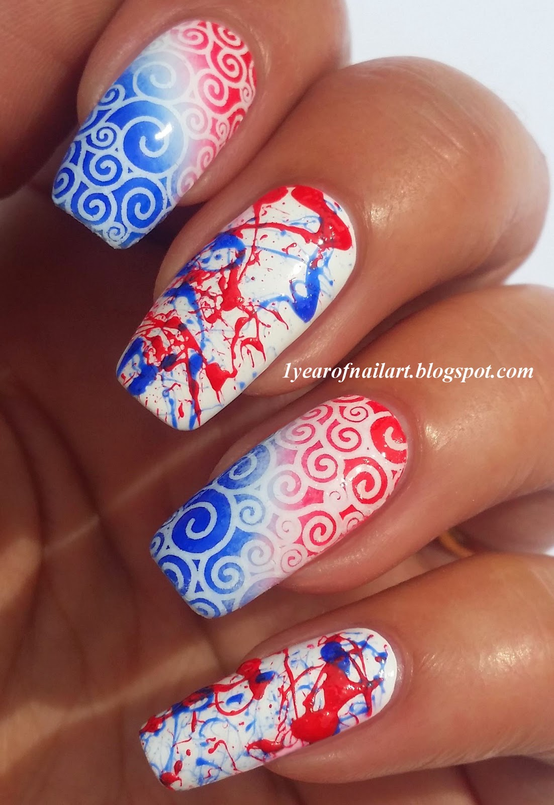 365 days of nail art june 2014 posted prinsesfo Image collections