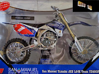 IN STOCK Die-cast 1/6 Scale Yamaha San Manuel YZ450F Dirt Bike/Scrambler/Race Bike