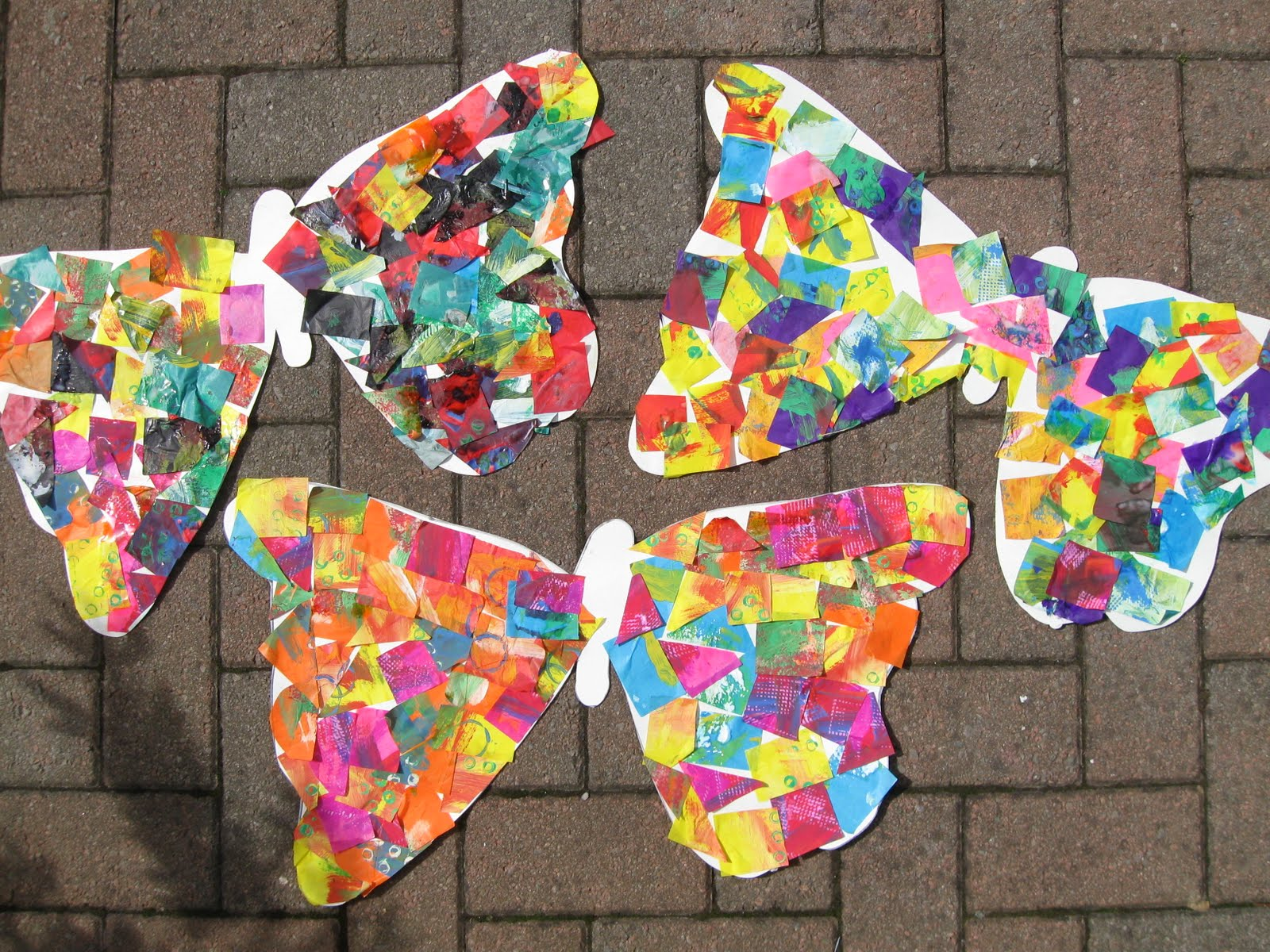 Hungry Caterpillar Style Butterflies Preschool Play