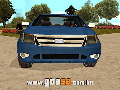 Ford Ranger Limited 2014 para GTA San Andreas