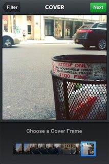 Choose frame: To attract the attention of other Instagram users
