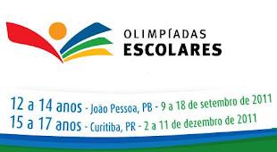 Olimpíadas Escolares 12 a 14 anos - João Pessoa