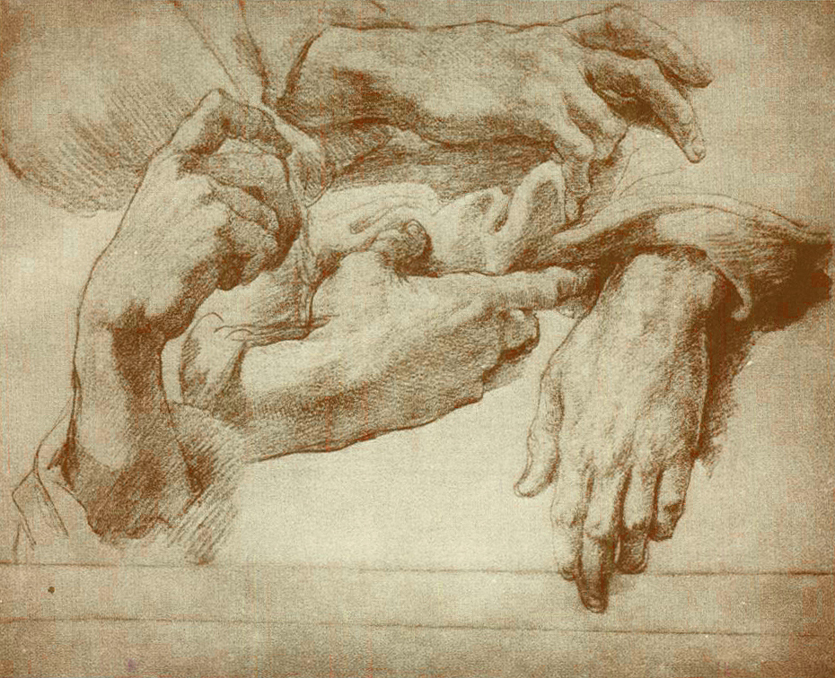 Art history news andrea del sarto the renaissance for Hand painting art
