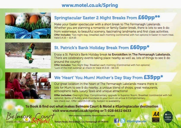 Belmore Court Spring Breaks from £60pps