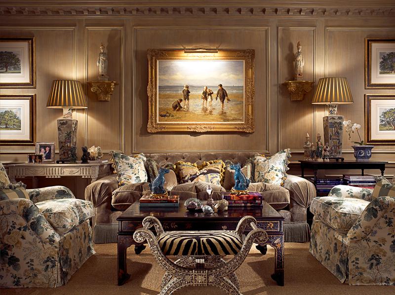 William R Eubanks Timeless Interiors Palm Beach Retreat