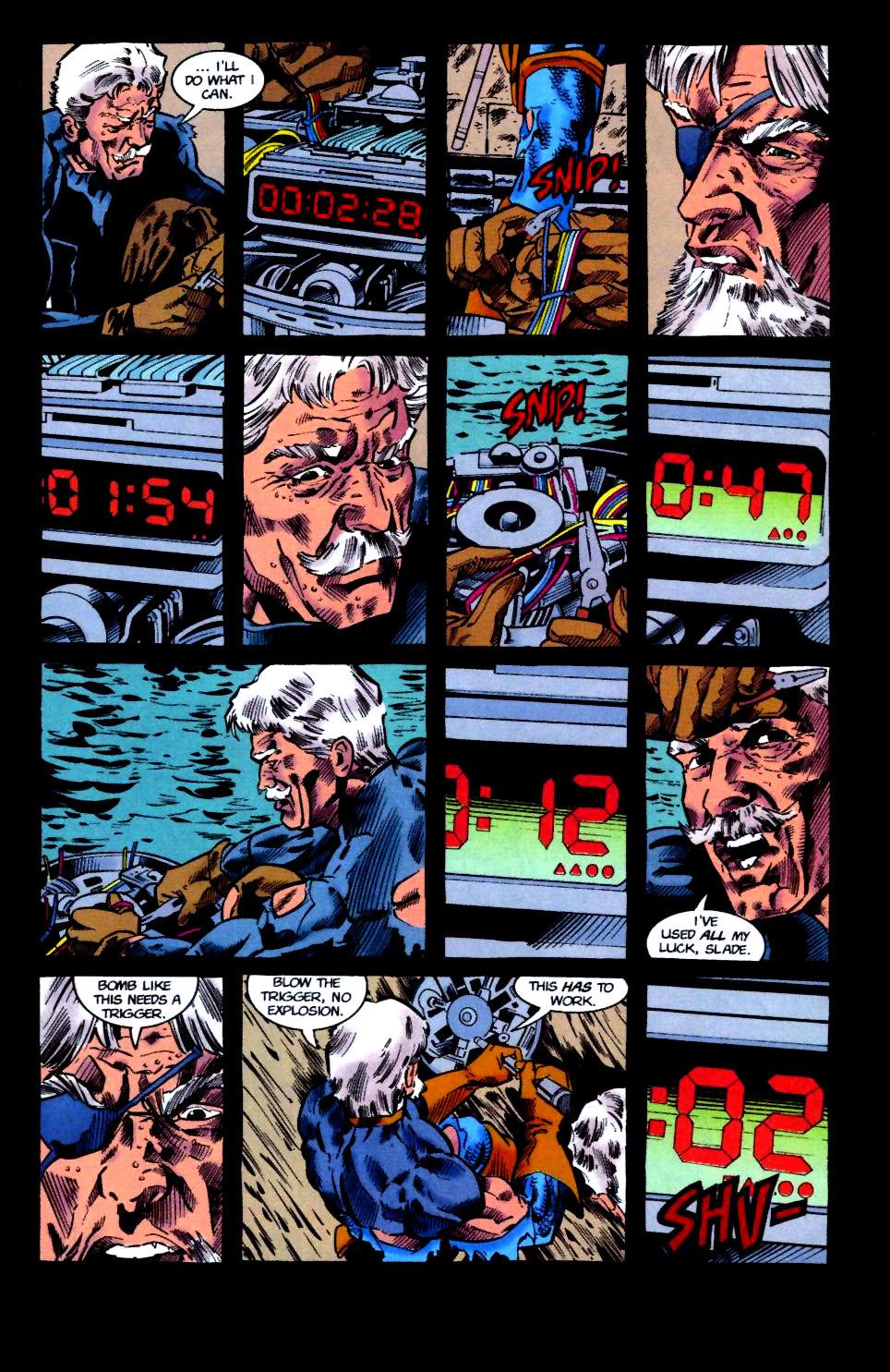 Deathstroke (1991) Issue #50 #55 - English 29