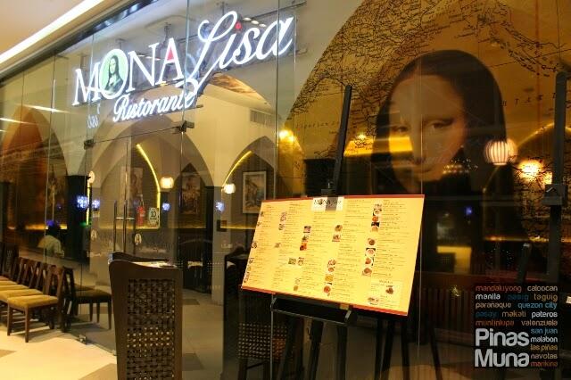 Mona Lisa Ristorante in SM Aura Premier