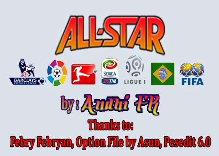 PES 2013 ALL STAR TEAM by AFR