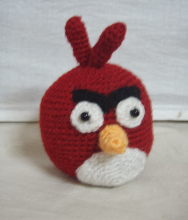 Free Crochet pattern for red angry bird ~ Free Crochet ...