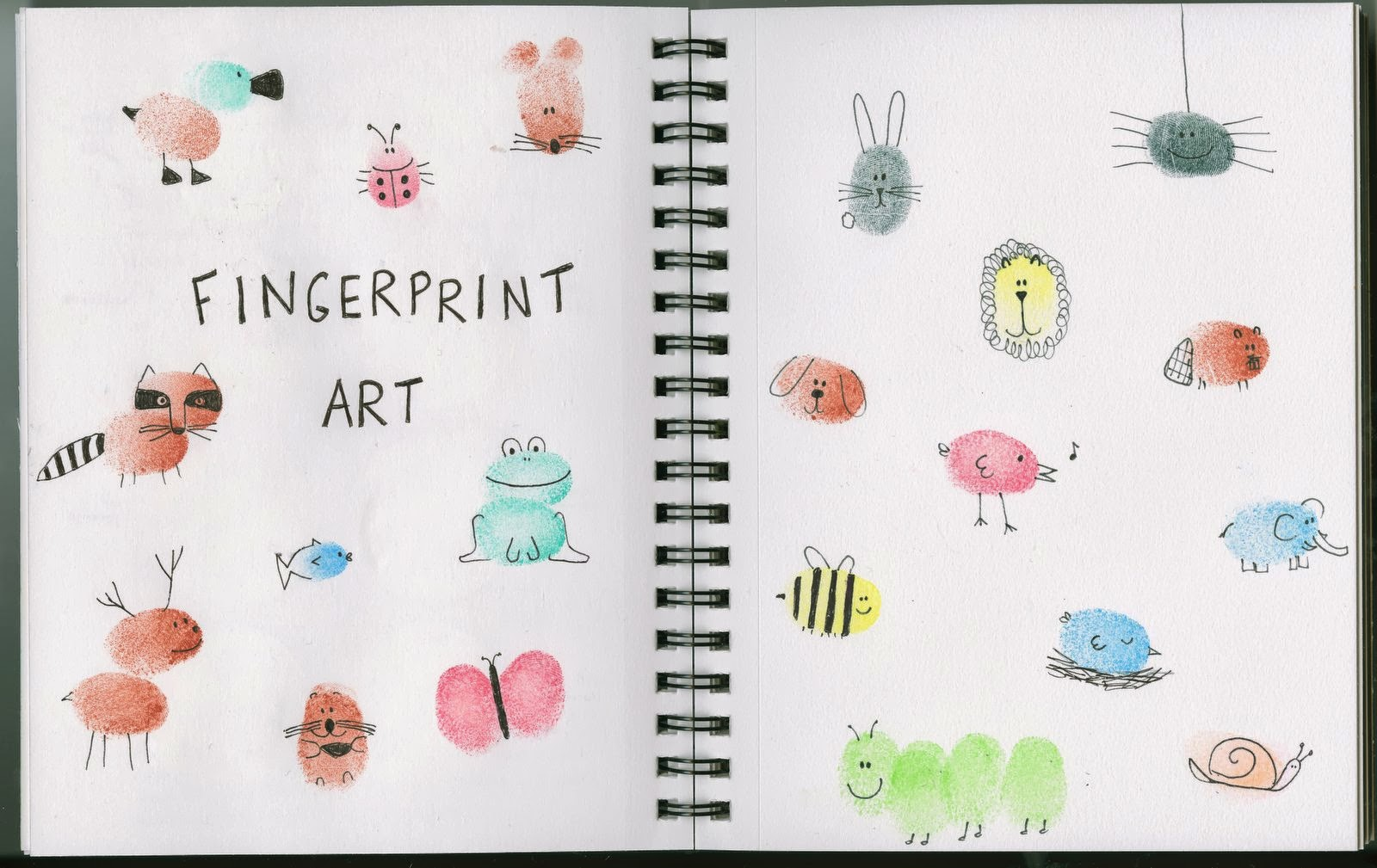 Christmas art and craft ideas thumbprint - Even Though We Ve Done Fingerprint Art Dozens Of Times Before It S