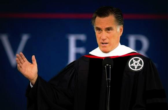  Romney as satan 