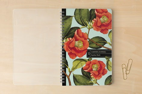 Minted.com Notebook | Botanical Garden