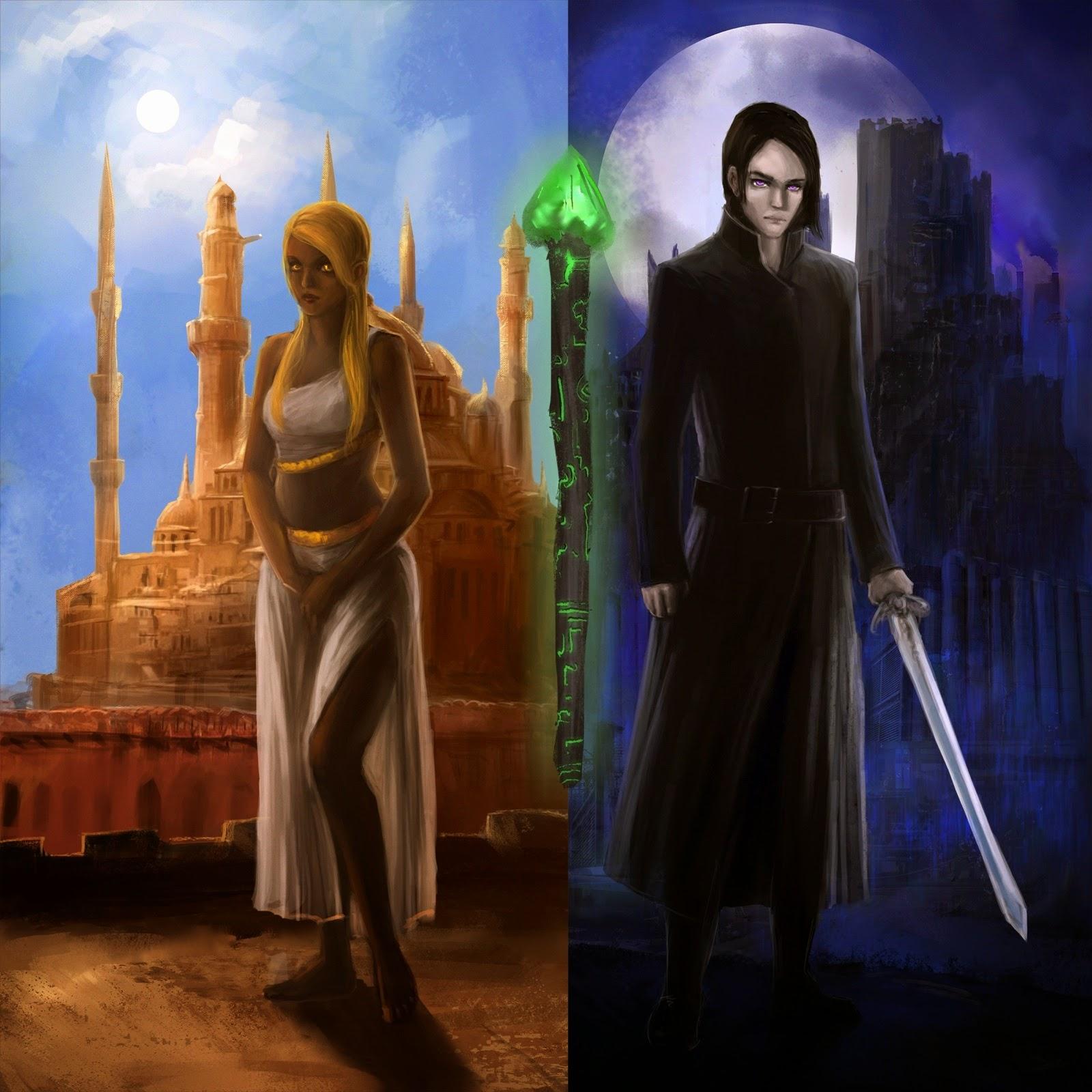 the staff of tzaddi, t.n. newborn, epic fantasy, fantasy novel