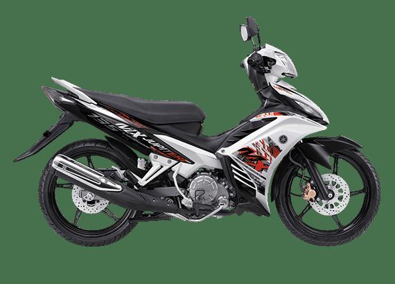 Yamaha New Jupiter MX Putih Hitam Orange