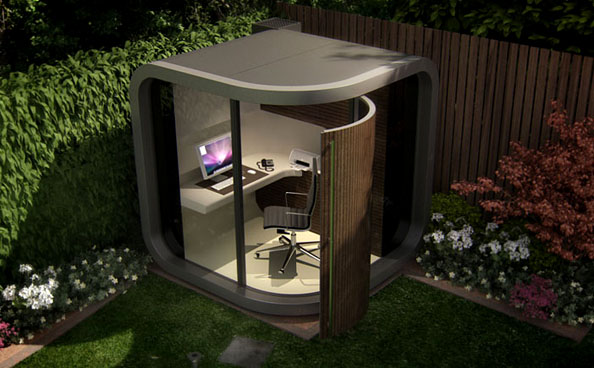 Ufficio In Giardino : Boiserie c trasforma il tuo giardino nel tuo ufficio