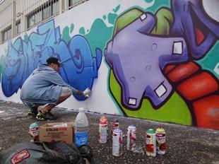 Uma Arte nas Ruas - Grafite