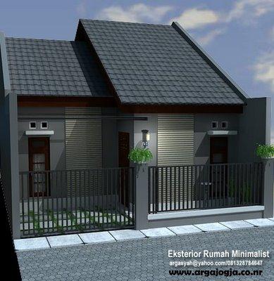 rumah minimalis modern model desain dan gambar blogspotan