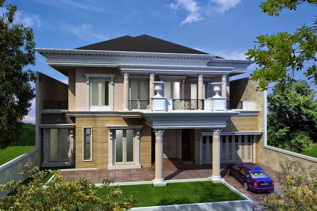 Gambar Desain Rumah Klasik Minimalis Model Terbaru Sederhana