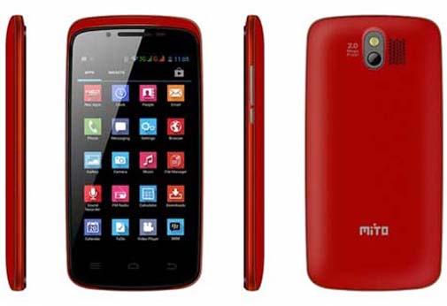 Spesifikasi dan Harga Mito Fantasy A55, Ponsel Android Murah