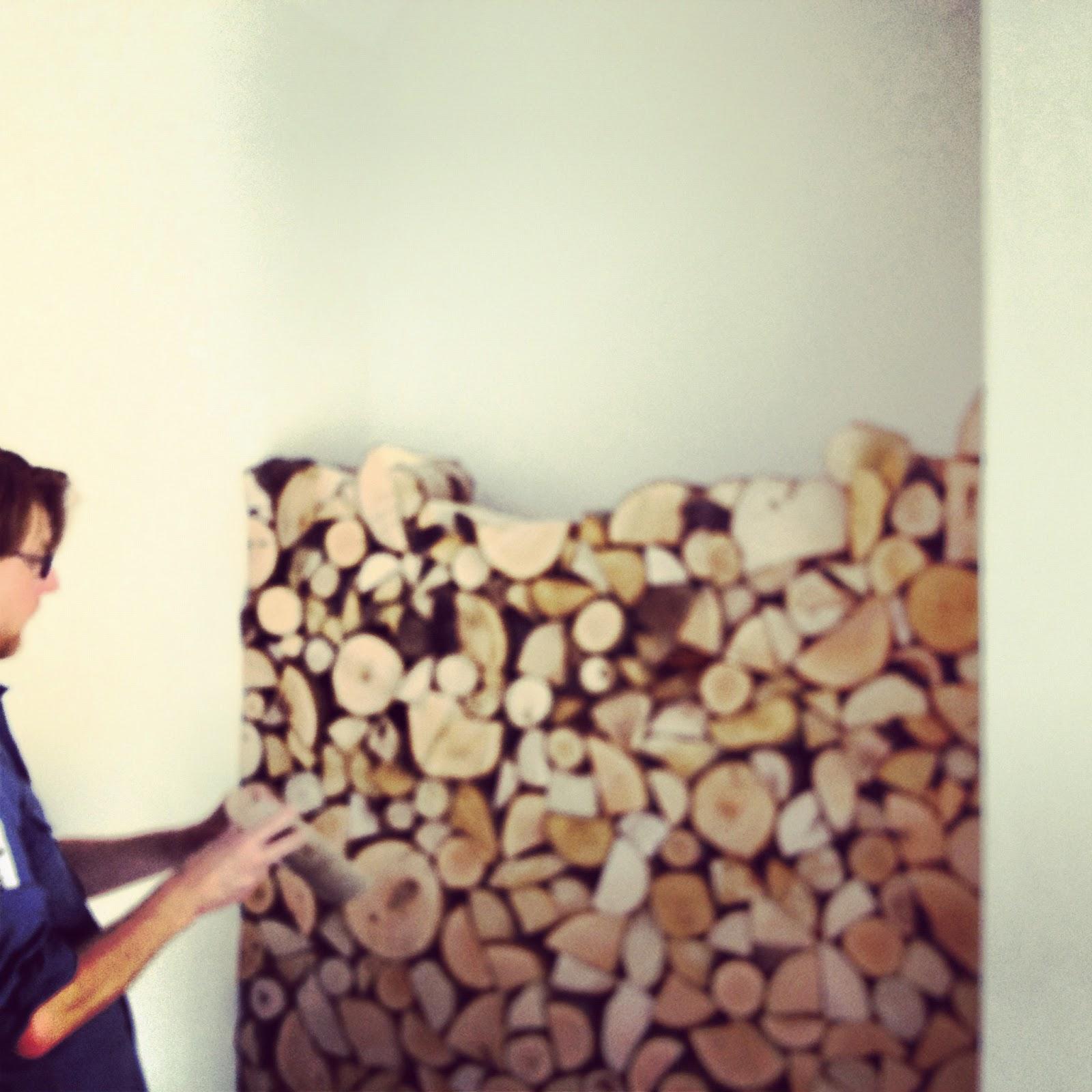 The London Log Company: Decorative Log Walls