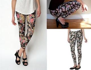 >Dicas de como usar legging florais!