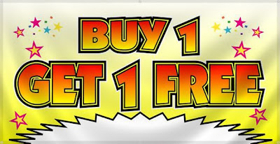 IPL Offer Buy one get one Free at oyester bay