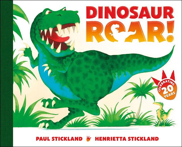 dinosaur roar, paul stickland, dinosaurs