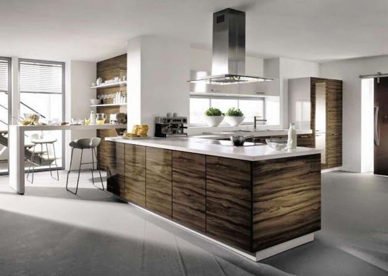 Decoración de cocinas minimalista