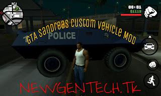 Gta sanandreas custom vehicle mod