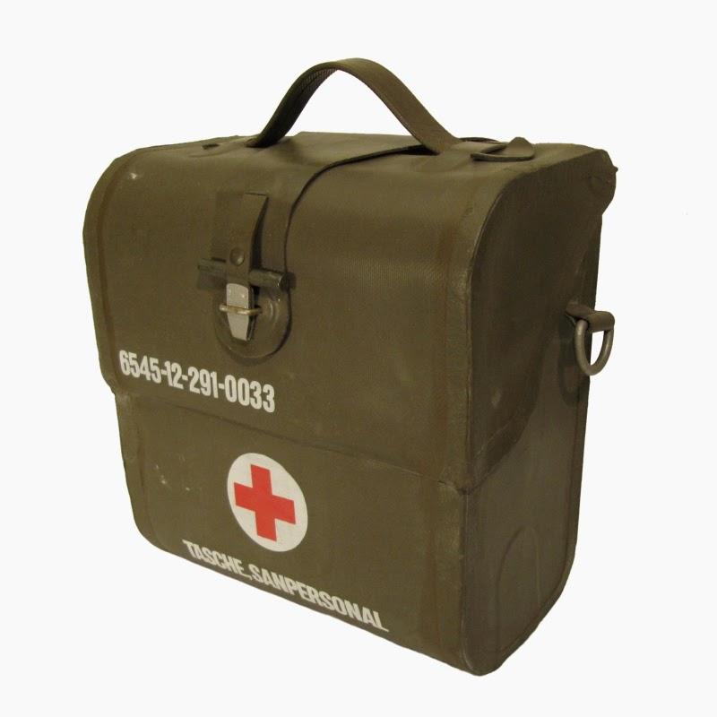 webbingbabel german army bag