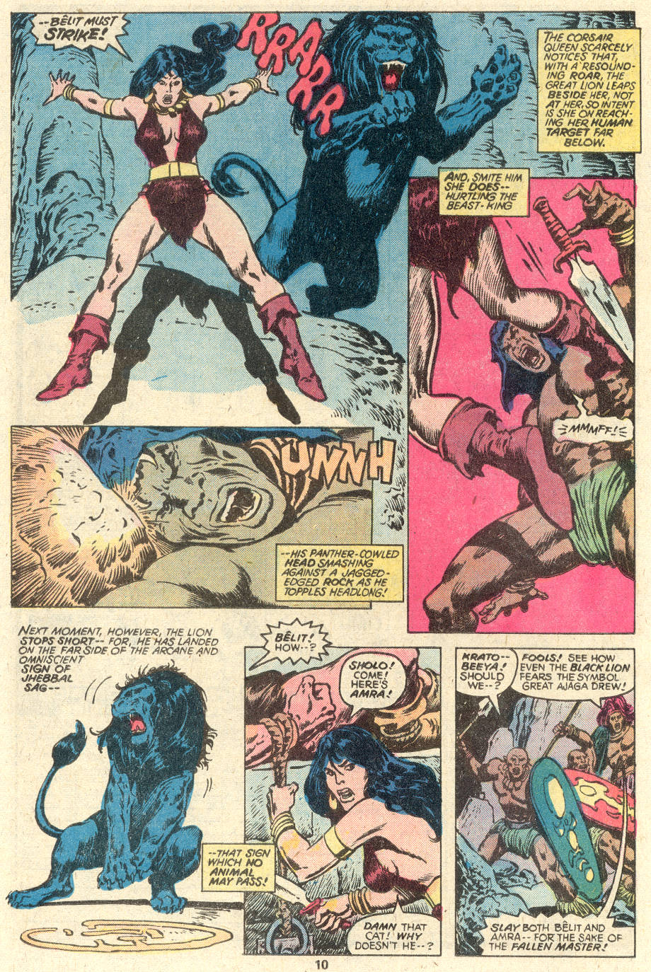 Conan the Barbarian (1970) Issue #97 #109 - English 7