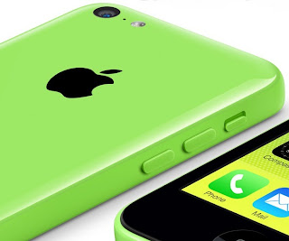 Green plastic iPhone 5c