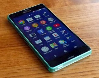 Sony Xperia Z3 Front