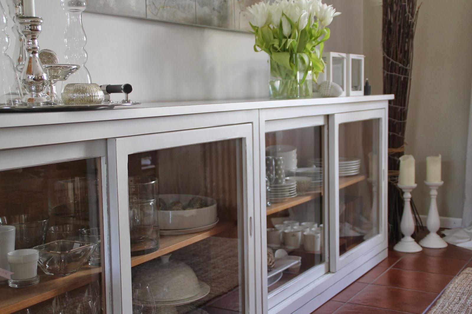 Geräumig Sideboard Mit Glastüren Dekoration Von Mein Glastüren (für Geschirr Und Gläser) Ist