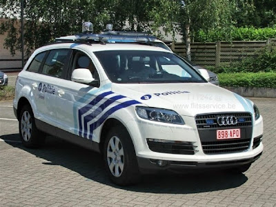 Police Car Audi Q7