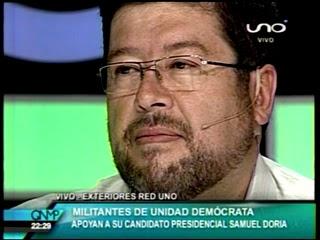 Samuel Doria Medina entrevistado en QNMP