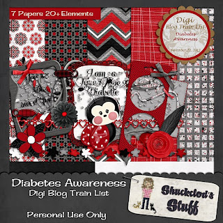 Digi Blog Train List Diabetes Awareness Freebie