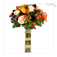 Autumn Bridal Bouquets1