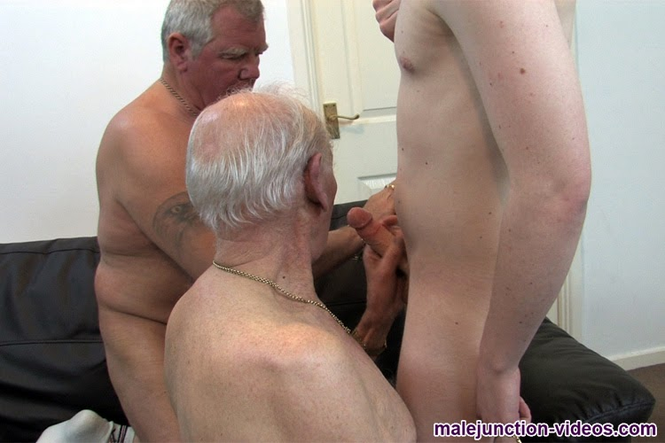 Old Men Older Male Junction Two Grandpas And Twink