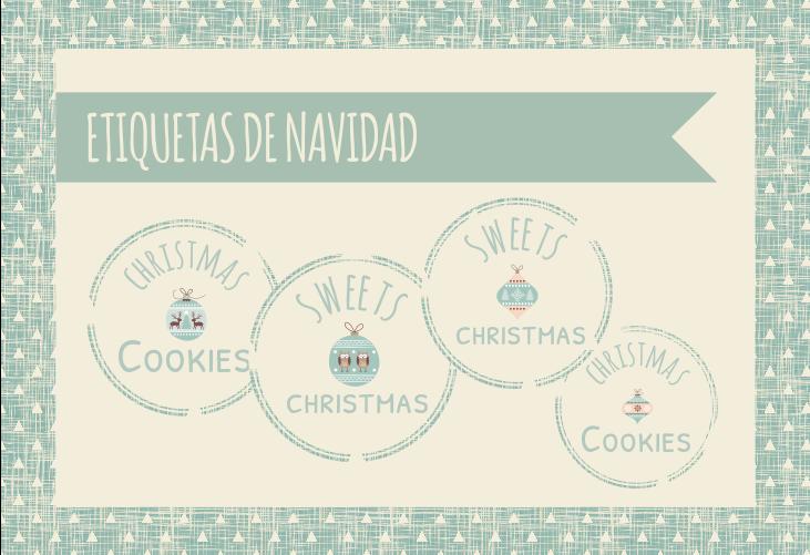 Etiquetas de Navidad imprimibles
